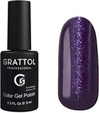 Grattol Гель-лак №091 Shining Purple