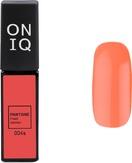 ONIQ Гель-лак для ногтей PANTONE 004s, цвет Fresh Salmon OGP-004s