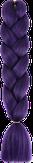 HIVISION Канекалон для афрокосичек фиолетовый А35