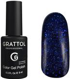Grattol Luxury Stones Sapphire Гель-лак №1 9 мл
