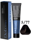 Estel Professional De Luxe Стойкая крем-краска 5/77, 60 мл.