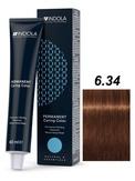 Indola Natural&Essentials 6.34 Крем-краска Темный русый золотистый медный 60мл