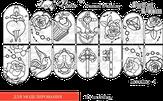 Lucky Rose Слайдер-трафарет Modeling-4