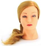 Dewal Голова учебная протеиновые волосы, цвет блонд 50-60 см.