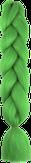 HIVISION Канекалон для афрокосичек зеленый неоновый