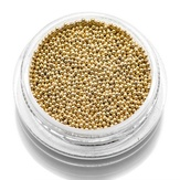 Modelon Бульонки металлические, 3 гр. золото диаметр 0,8 мм.