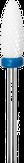 Modelon Фреза керамическая белая кукуруза, синяя, средняя насечка