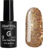 Grattol Гель-лак светоотражающий Bright - Cristal 01