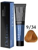 Estel Professional De Luxe Стойкая крем-краска 9/34, 60 мл.