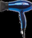 Dewal Фен для волос Magnifico, ионизация, 2 насадки, синий 2000W