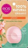 Eos Organic Apricot Бальзам для губ с ароматом абрикоса (на картонной подложке)