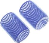 Dewal Бигуди-липучки, синие 78 мм. 6 шт. R-VTR19