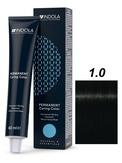 Indola Natural&Essentials 1.0 Крем-краска Черный натуральный 60 мл.