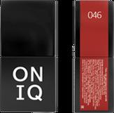 ONIQ Гель-лак для ногтей PANTONE 046, цвет Aurora red OGP-046