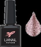 """Lianail Гель-лак с эффектом жидкой фольги """"Terracot Flash"""", 10 мл."""