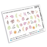 BPW Style Слайдер-дизайн Осенние штампы, sd5-1790