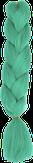 HIVISION Канекалон для афрокосичек флуоресцентный мята С6