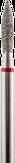 Владмива Фреза алмазная пламя, D2,3 мм. красная, мягкая зернистость 806.243.514.023