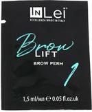 """InLei Перманентный состав для бровей """"Brow Lift 1"""" саше 1,5 мл."""