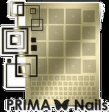 Prima Nails Металлизированные наклейки GM-03, Золото