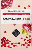 Etude House Therapy Air Mask Pomegranate Тканевая маска с экстрактом граната
