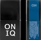 ONIQ Гель-лак для ногтей PANTONE 034, цвет Imperial blue