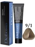 Estel Professional De Luxe Стойкая крем-краска 9/1, 60 мл.