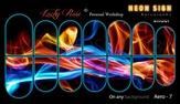 Lucky Rose Слайдер-дизайн эффект аэрографии Aero Neon-7