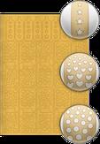 El Corazon Трафареты для дизайна ногтей № 10