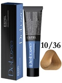 Estel Professional De Luxe Стойкая крем-краска 10/36 60 мл.