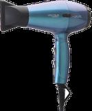 Dewal Фен для волос Chameleon Spectrum Compact, ионизация, 2 насадки, бирюзовый хамелеон 2100W