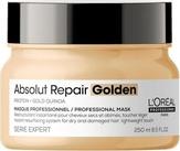Loreal Absolut Repair Gold Маска с золотой текстурой для восстановления поврежденных волос 250 мл.