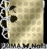 Prima Nails Металлизированные наклейки FL-06, Золото