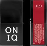 ONIQ Гель-лак для ногтей PANTONE 020, цвет Barbados cherry OGP-020