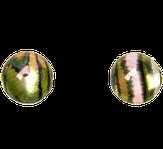 """Irisk Декоративные элементы """"Кошачий глаз"""" №04 Нефритовый круглый"""