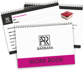 Barbara Work Book Рабочая книга мастера белая