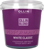 Ollin Blond Осветляющий порошок лаванда 500 гр.
