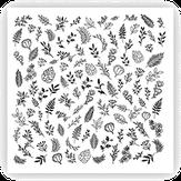 ONIQ Слайдеры для нейл-дизайна Transfer: Botanist 3