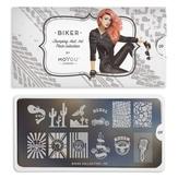MoYou London Пластина для стемпинга Biker 09