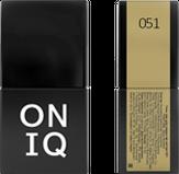 ONIQ Гель-лак для ногтей PANTONE 051, цвет Spicy Mustard