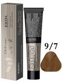 Estel Professional De Luxe Silver Стойкая крем-краска для седых волос 9/7, 60 мл.