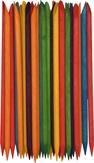 Modelon Апельсиновые палочки цветные средние, 90-100 шт.