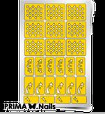 """Prima Nails Трафарет для дизайна ногтей, """"Космос"""""""