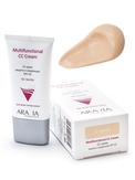 Aravia СС-крем защитный SPF-20 Multifunctional CC Cream, Vanilla 01, 50 мл