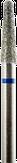 Владмива Фреза алмазная конус, D2,7 мм. синяя, средняя зернистость 806.199.524.027