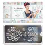 MoYou London Пластина для стемпинга Cook Book 11