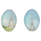 Irisk Декоративные элементы для декупажа броши, цвет Париж