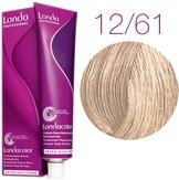 Londa Color Стойкая крем-краска 12/61 специальный блонд фиолетово-пепельный, 60 мл,