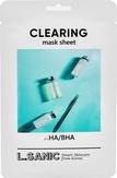 L.Sanic Тканевая маска с AHA/BHA кислотами для очищения пор