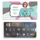 MoYou London Пластина для стемпинга Geek 07